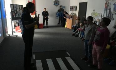 2017.04.19 Zajęcia na terenie III Komisariatu Policji