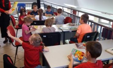 2018.05.15 Przedszkolaki w bibliotece