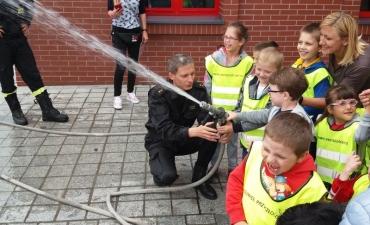 2018.05.16 Wycieczka Przedszkolaków do Straży Pożarnej_12