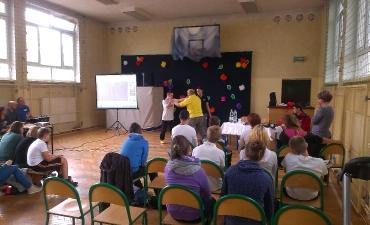 2015.10.15 - Lekcja WF-u z p. Lidią FIdurą