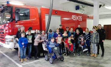 2016.12.14 Wizyta w Straży Pożarnej