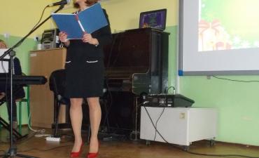 2017.01.10 Występ śpiewaczki operowej Aleksandry Szafir - Makowskiej