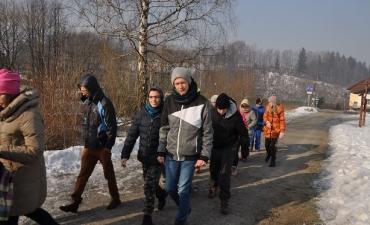 2017.02.13 Wisła- dzień 2 Poznajemy perłę Beskidu Śląskiego
