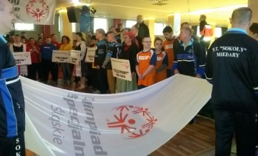 2017.02.23 Śląski turniej bowlingowy Olimpiad Specjalnych