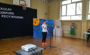 2017.04.11 Szkolny Konkurs Recytatorski ŚWIAT, CZŁOWIEK, PRZYRODA