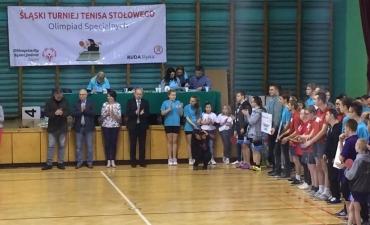 2017.04.26 XXI Śląski Turniej tenisa stołowego Olimpiad Specjalnych w Rudzie Śląskiej