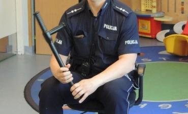 2017.05.29 Wizyta policjanta w przedszkolu