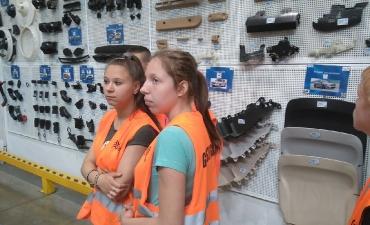 2017.06.08 Z wizytą w Fabryce Plastików w Gliwicach Sp. Z O.O