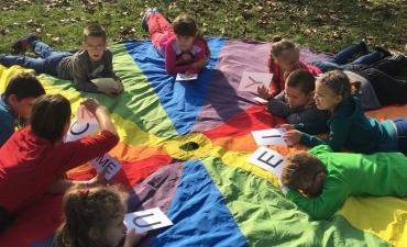 2017.10.19 Lekcja na szkolnym podwórku