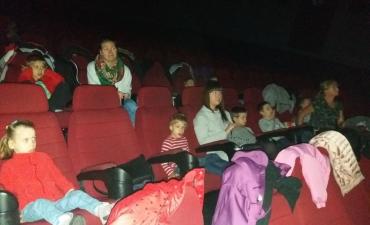2017.10.31 Wycieczka Przedszkolaków do Kina - Gru Dru Minionki
