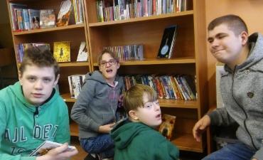 2017.12.14 Wizyta w Miejskiej Bibliotece w Gliwicach