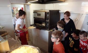 2018.03.19 Wizyta Przedszkolaków w Pizzerii