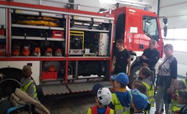 2018.05.16 Wycieczka Przedszkolaków do Straży Pożarnej