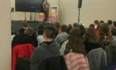 2019.03.13 Spotkanie z Jasiem Melą