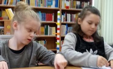 2019.03.19 Lekcja w bibliotece