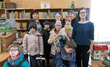 2019.03.26 Lekcja w bibliotece klasa 2 i 3