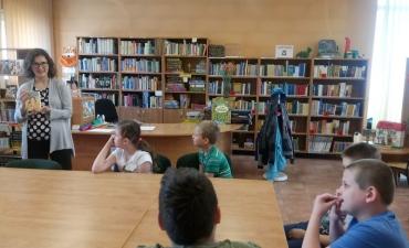 2019.05.21 Lekcja w bibliotece