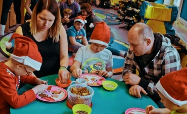 2019.12.17 Świąteczne Warsztaty z Rodzicami - Przedszkole