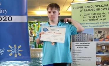 2020.02.27 V Mistrzostwa Szkół  Specjalnych w Plywaniu o Puchar Starostwa Tarnogórskiego